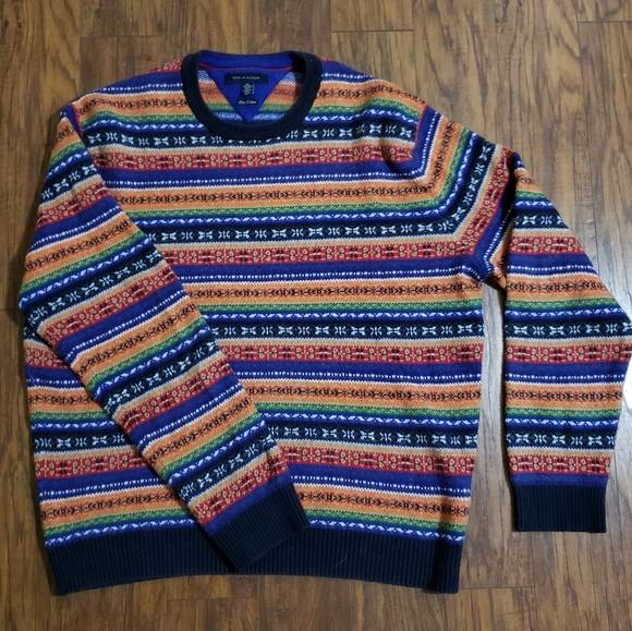 Tommy Hilfiger Other - Tommy Hilfiger Vintage Colorful Sweater
